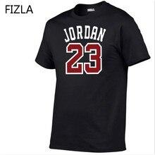 Verano gran venta nueva camiseta Jordan 23 impresión hombres Swag camiseta  algodón calidad superior Jordan 23 Hip Hop Camiseta d. 51cc425525a