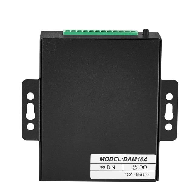 Data Acquisition Module 2 Relay Output Modbus RTU Remote IO Module RS485 DAM104