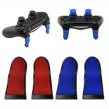 2 шт. Нескользящие изогнутые L2 R2 расширенные кнопки триггеров для playstation 4 PS4 контроллер триггер удлинитель