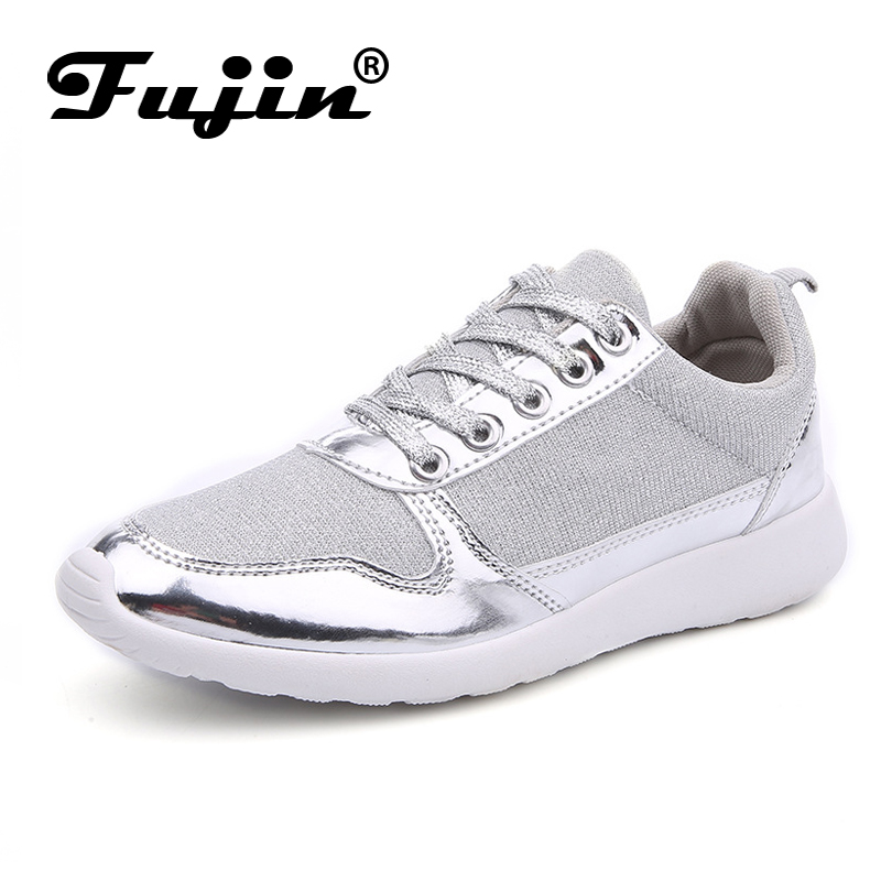 Size 36-41 brand New Chaussure Femme rubber 2018 Women casual shoes Gold Silver mesh woman breathable fashion casual summer shoe plus size casual women shoe mesh breathable sneaker female light summer couple shoes free shipping gold silver black huarche