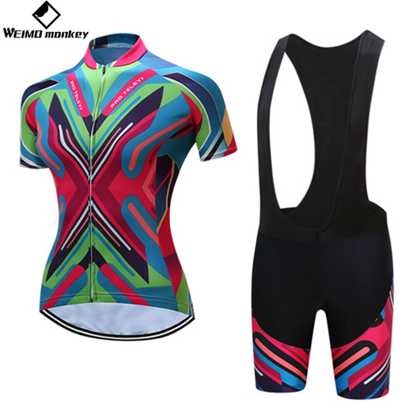 Cycling Set 2018 Bike Jersey Bib Shorts Suits summer road Bike suits MTB  Bicycle Top bottom Maillot Ropa Ciclismo Shirt colorful-in Cycling Sets  from Sports ... b69ac313e