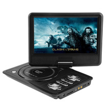ใหม่7นิ้วTFTหน้าจอแสดงผลดีวีดีแบบพกพาEVDทีวีเครื่องเล่นVCDซีดีMP3/4 USBเกมมือถือทีวีสำหรับสหภาพยุโรปซ็อกเก็ตเสียบแบตเตอรี่แบบชาร์จไฟ