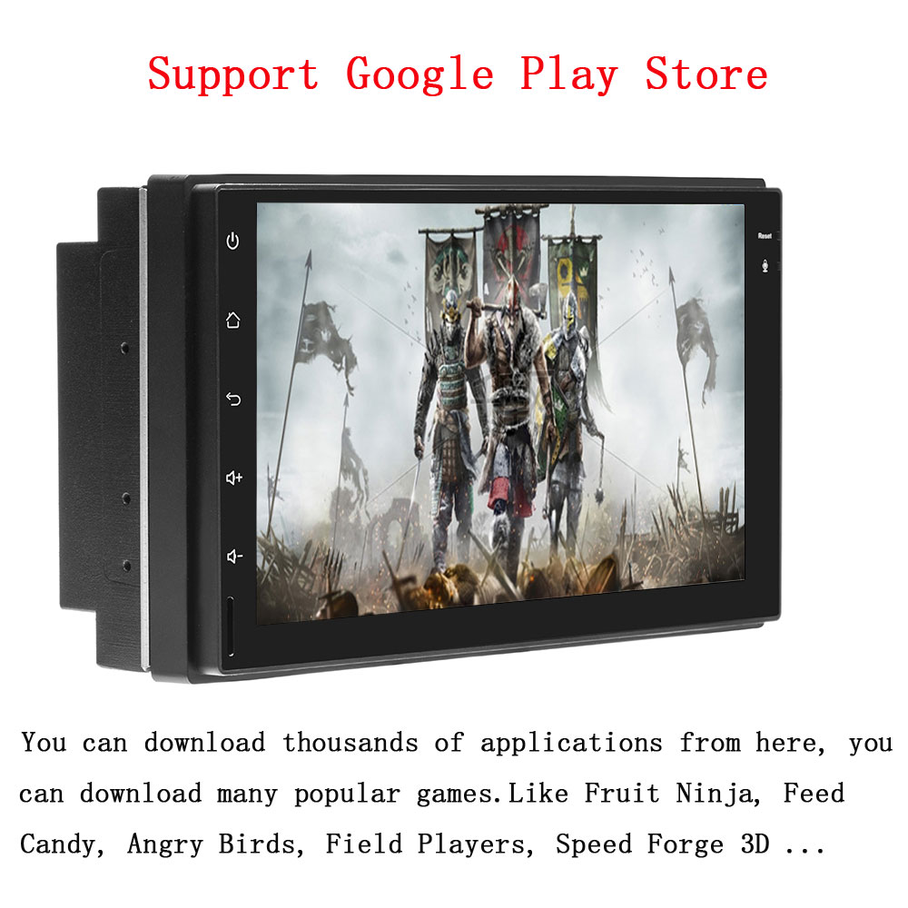 US $119 99  Podofo 2 Din Car radio Android GPS Navigation Multimedia Video  Player Universal auto 2din Car Stereo GPS MAP No DVD Player-in Car