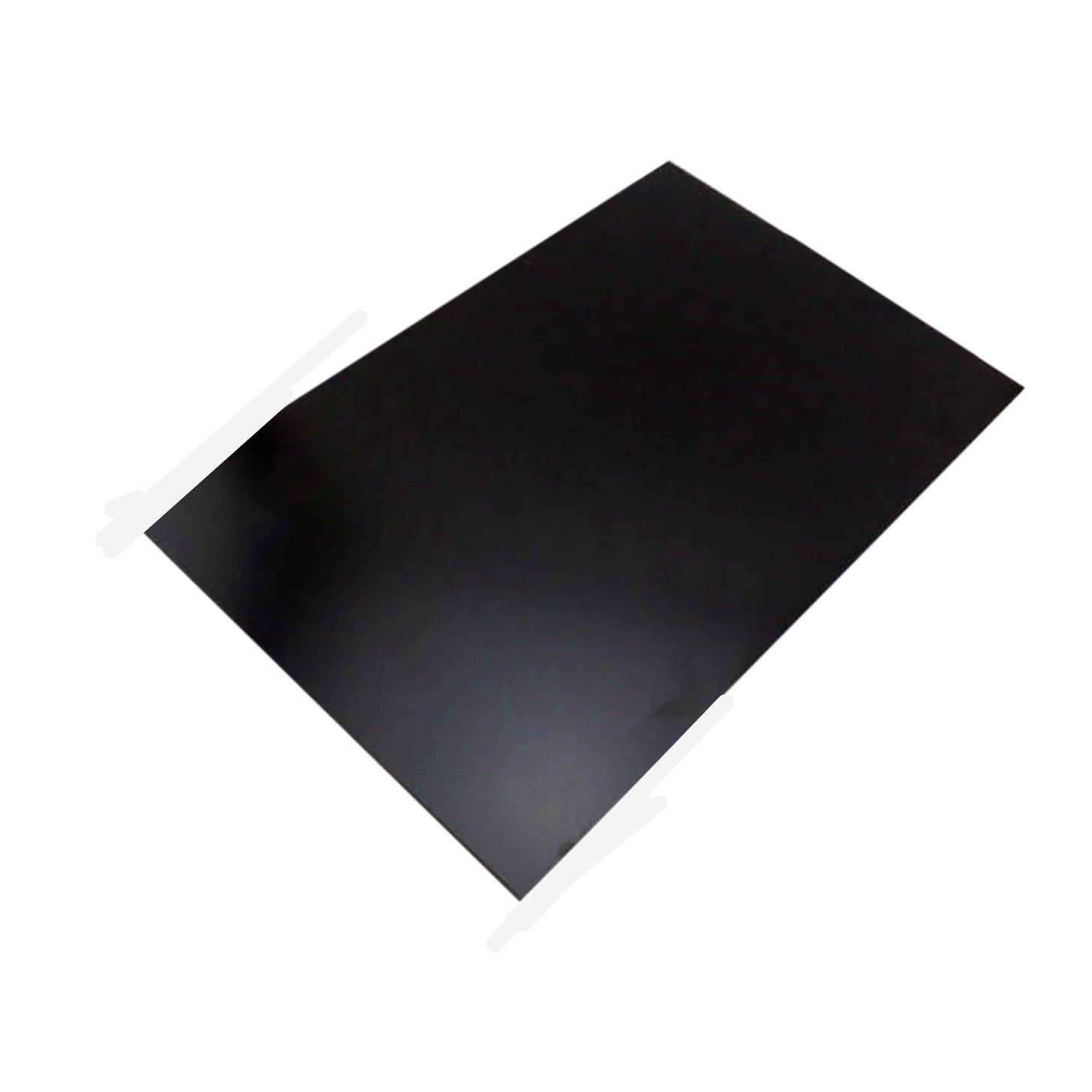 1Pc Durable Black ABS Styrene Plastic Flat Sheet Electrical Insulation Plate 0.5*100*100mm/0.5*200*200mm For Electrical Fields