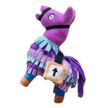 New Cute Stuffed Fortress Night Doll Alpaca Llama Plush Toy Game Rainbow Horse Stash Kids Children Gift