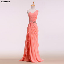 Buy one shoulder red formal dress and get free shipping on ... 5038e4fd5e1d