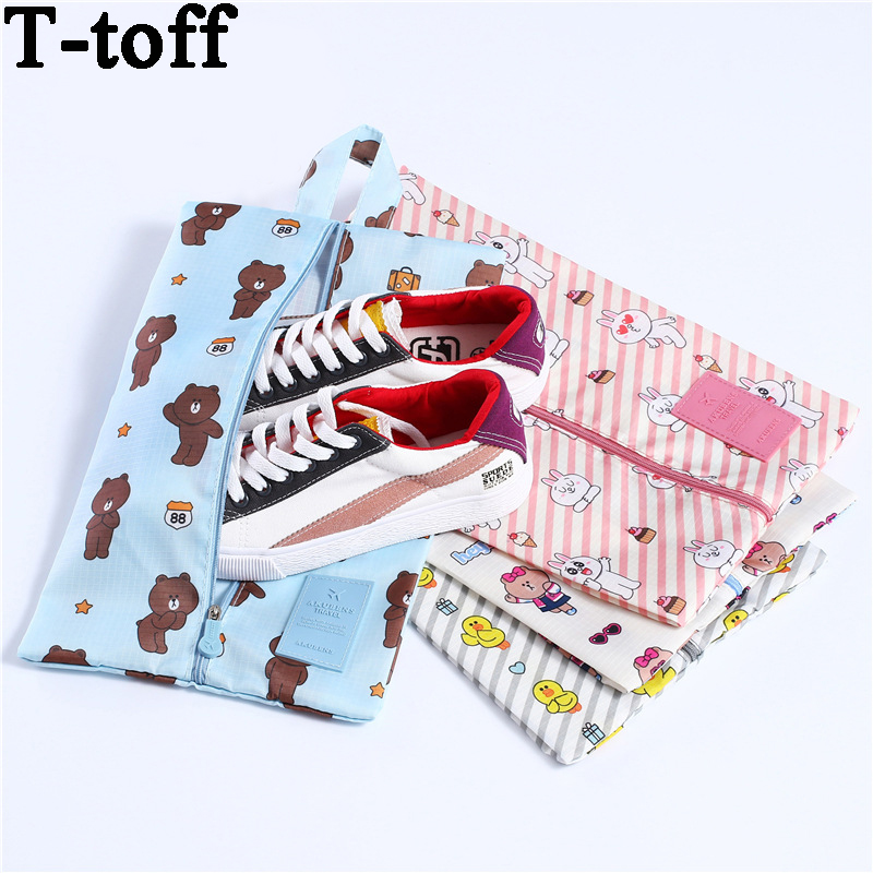 Women Travel Shoes Bags Brown Bear Organizar Storage Wholesale Bulk Lots Accessories Supplies Items Stuff Products