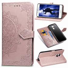 Чехол для Huawei Honor 6a из искусственной кожи бумажник с отделением для карт чехол-книжка на магните с тиснением с Мягкий силиконовый чехол для Huawei Honor 6a Pro задняя крышка