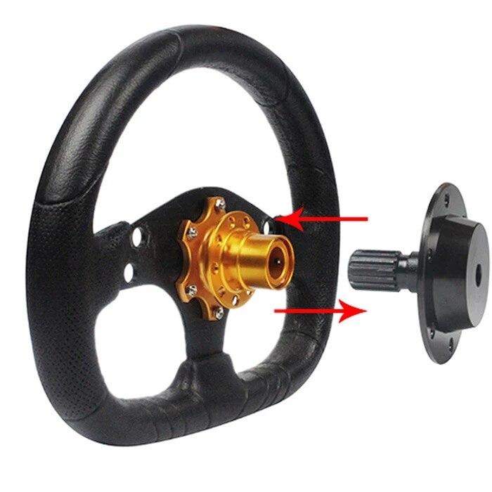 CNSPEED универсальный под давлением алюминиевых гоночный автомобиль рулевое колесо Quick Release концентратор босс Adapter Kit Volante отламывающимся 6 отверстие концентратор, адаптеры