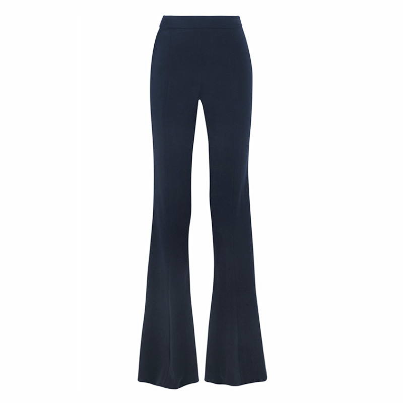 Longer Size Can fit 160cm -200cm height flare pants 2018 new Fashion brand England style big flare was thin trousers WQ05