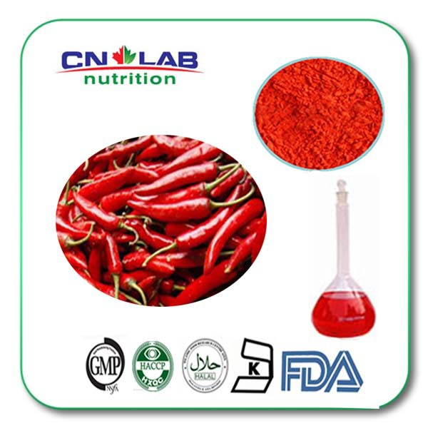 95% natural red capsaicin and capsicum pepper extract 500g/lot