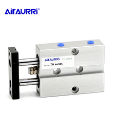 Aluminum Alloy TN Type Pneumatic Cylinder 10mm 16mm 20mm 25 mm Bore 10/15/20/25/30/35/40/45/50/60/70mm Stroke Air Cylinder bore 20mm x250mm stroke double action type aluminum alloy mini cylinder pneumatic air cylinder