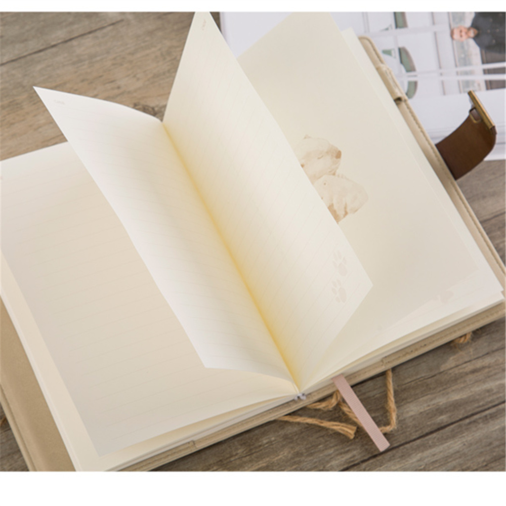 New Cute Animal Notebook Hard Copybook Composition Book Daily Memos Mine Emotional Password Notebook phytochemical composition