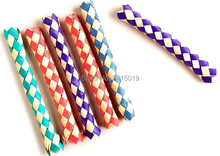 лучшая цена Free ship wholesale 144pc cheap Chinese finger trap magic trick joke toys party favors gifts loot bag fillers give away