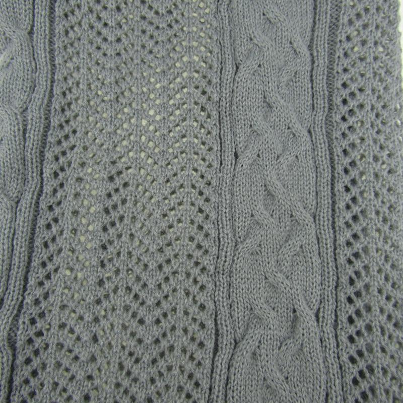Moda mujer hombres Masajeadores de cuello crochet bufanda marca ...