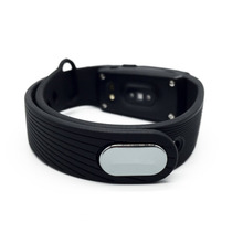Hembeer HR Heart Rate Monitor Smart Wristband Black/Orange/Green/Blue/Purple Armband Step Counter Band for iphone Android