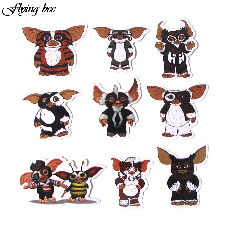 Image 5 - Flyingbee 66 Pcs Gremlins Anime Sticker Decals Scrapbooking Stickers for DIY Luggage Laptop Car Phone Skateboard Graffiti X0019-in Stickers from Consumer Electronics