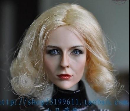 ФОТО 1:6 KUMIK Accessory Action Figure Girl Actress Head Sculpt CG CY Model KM13-74