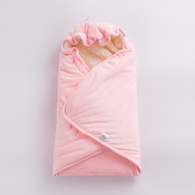 Baby Sleeping Bag Cotton Warm Swaddle Wraps Soft Comfortable Envelopes Baby Bag Newborns Blanket Hooded Sleeping Bag