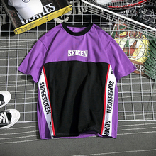 Hip Hop Baseball Cotton Tees T-shirt