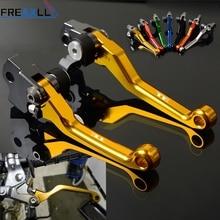 цена на For HUSQVARNA TE250-511 TE125 TE150 TE250 TE300 CNC Aluminum Motorcycle Levers Motocross dirt bike Pivot Brake Clutch Levers