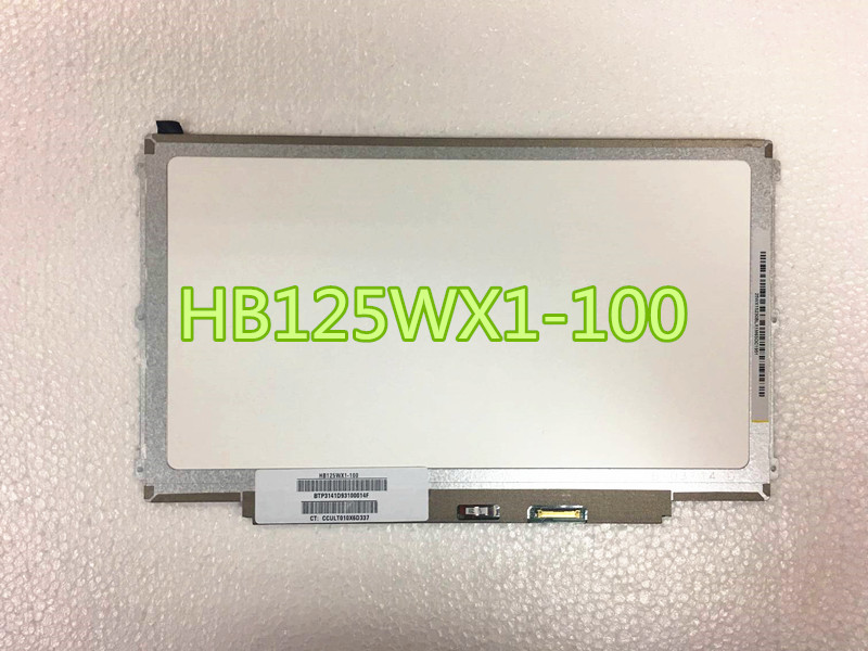 12.5 laptop LCD screen 30pins EDP B125XTN02.0 HB125WX1-100 LP125WH2 TPB1 HB125WX1-201 FOR dell E7240 free shipping b125xtn02 0 lp125wh2 tpb1 hb125wx1 201 for dell e7240 e7250 lcd screen edp 768 30 pin left right 3 screw holes