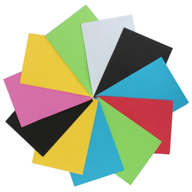 Buy jesjeliu 10pcs lot lowest price 10 for Colour paper craft