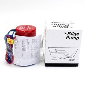 Image 4 - 500GPH dc 12 v mini tekne sintine pompası otomatik şamandıra anahtarı ile kayık kural su elektrik 500 gph volt manuel deniz 12 v volt