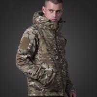Tactical M95 UK US Army Fans Men Combat Pilot Coat Outdoor Hoodie Waterproof Windproof Military Windbreaker Male Hunting Jackets