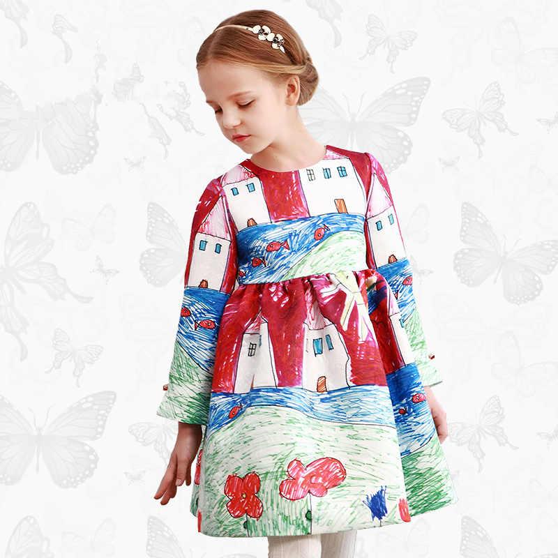 db9d0375d7e W. l. monsoon  Ortensia  платье с ручной Стрекоза Брендовое платье принцессы