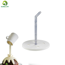 Cake Pouring Kit Cake Support Structure for Easy Gravity Defying Cakes by Cake Frame Bonus Conversion Guide Included Cake Stand