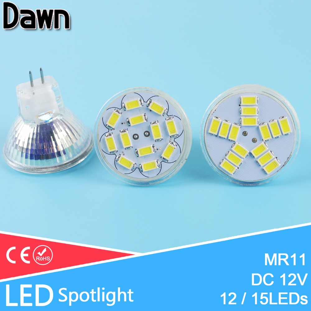 Lamparas Led 3w Glass Dc12v Mr11 Led Lamp Led Spotlight Bombillas 3w 5w Spot