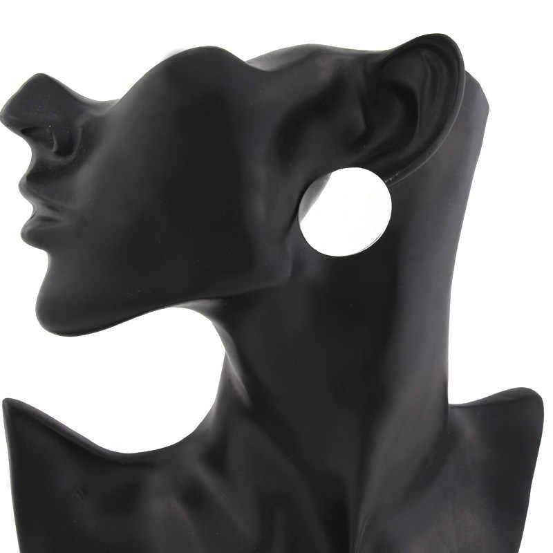 E912 รอบรูปต่างหูโลหะต่างหู Vintage สำหรับแฟชั่นผู้หญิงเครื่องประดับต่างหู brincos 2019