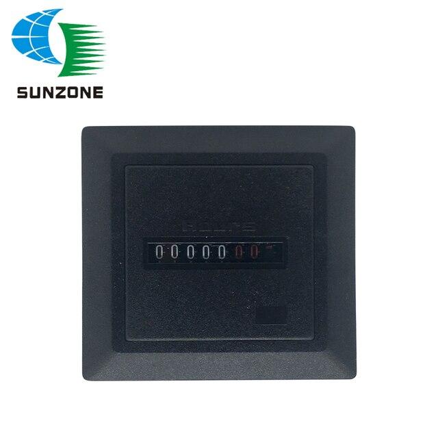 US $4 03 10% OFF|Aliexpress com : Buy Generator Digital Timer Square Hour  Counter HM 1 Digital 0 99999 9 Hour Meter Gauge AC220 240V from Reliable