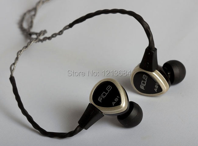 Original Fidue A81 Noise Isolating Super Dynamic Driver Titanium Moving Coil High Fidelity Audiophile IEMs Inner-Ear Earphones free shipping stock high quality original ie60 headphone moving coil unirt micdriver dynamic earphone no package