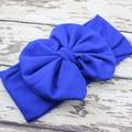 Baby Headwrap Headband Large Jersey Bow Headband Big Bow Cotton Headbands Headwraps Girls Hair Accessories 5pcs