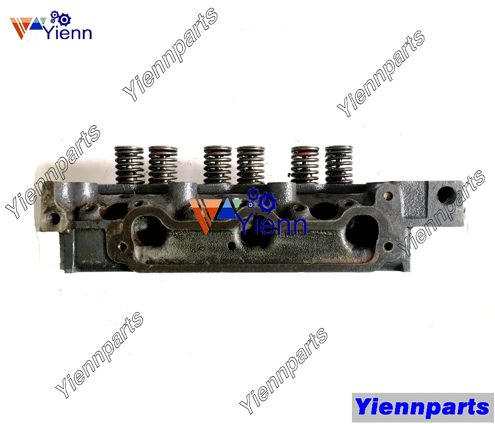 US $750 0 |For Mitsubishi K3D Cylinder Head Assy MM408814 Used Part Fit  ISEKI TU160 TU170 TU175F Tractor Mitsubishi K3D Diesel Engine Parts-in