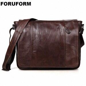 Мужские сумки через плечо из натуральной кожи, мужские сумки-мессенджеры большой вместимости, портфели для ноутбука, деловые сумки, LI-1445