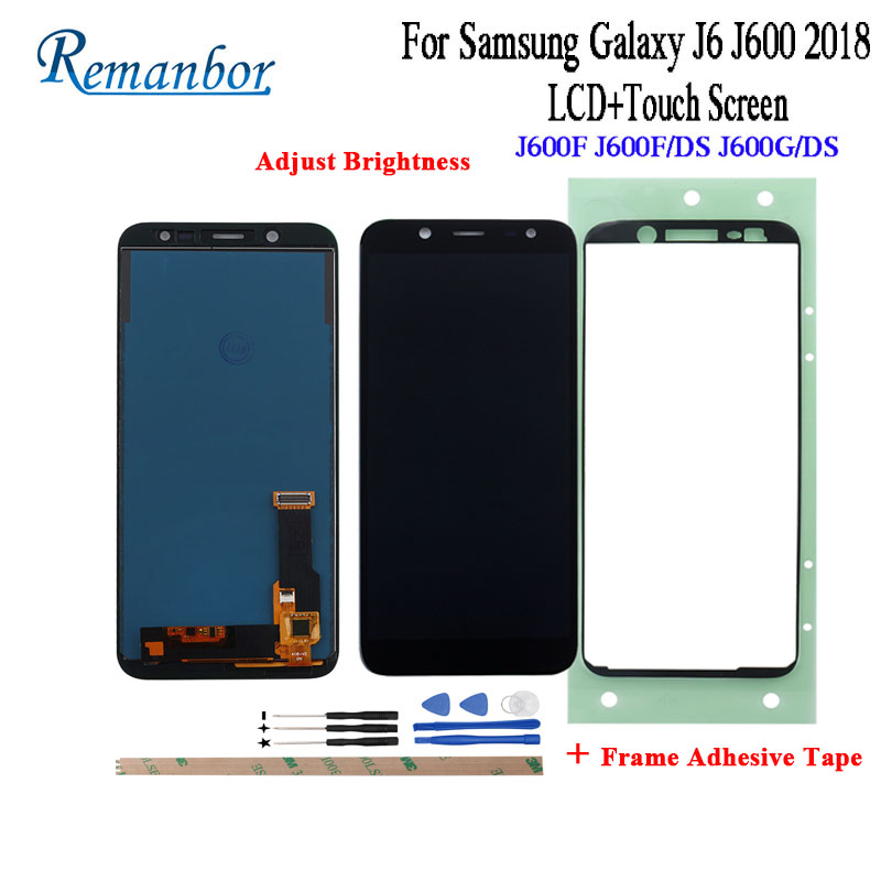 Remanbor For Samsung Galaxy J6 2018 LCD J600F J600F/DS J600G/DS LCD Display and Touch Screen Assembly Repair Parts With ToolsRemanbor For Samsung Galaxy J6 2018 LCD J600F J600F/DS J600G/DS LCD Display and Touch Screen Assembly Repair Parts With Tools