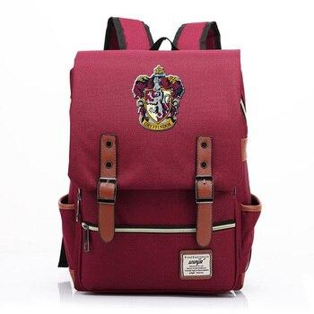 For Vip Link Magic Hogwarts Ravenclaw Slytherin Gryffindor Boy Girl Student School bag Teenagers Schoolbags Women Men Backpack 1