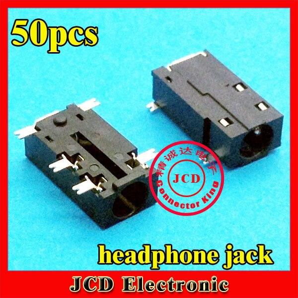 ChengHaoRan 50x Common Laptop Audio jack 3.5mm Headphone Jack Audio ...