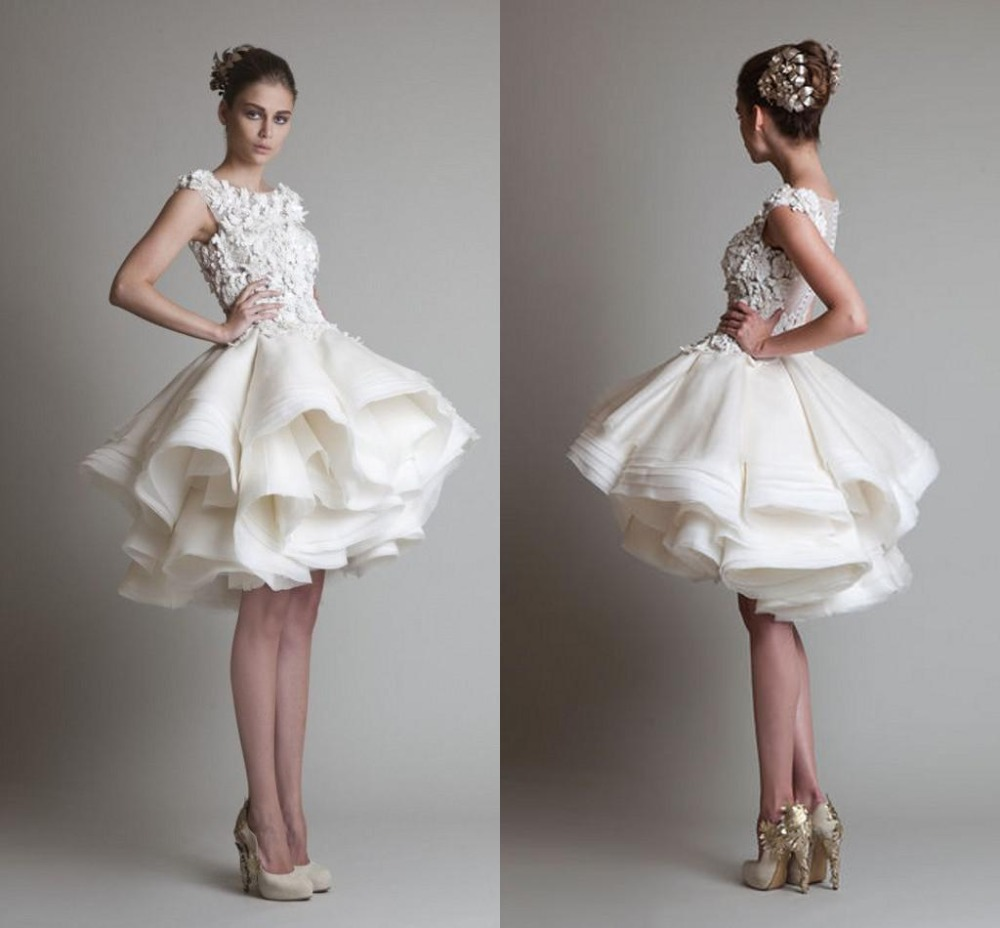 Mini Wedding Gowns Promotion-Shop for Promotional Mini Wedding ...