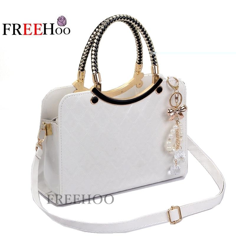 5bd365ee4c2b Detail Feedback Questions about 2018 cute New Style Fashion bolsa feminina Brand  Designer PU Tote Shoulder Bag Ladies Messenger chain plaid white bag on ...