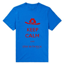 The Walking Dead Keep Calm And Stay With Rick T-Shirt
