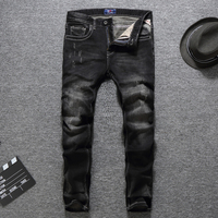 New Arrival 29 40 High Grade Men S Black Grassia Jeans Masculino Denim Pants Slim Fit