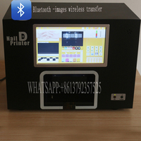 Free Shipping Image Wireless Transfer Digital Nail Printer With Touch And Computer Nail Printer Machine