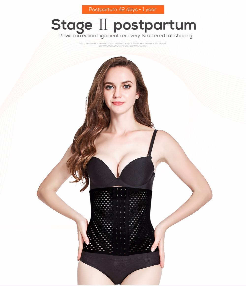 a5636322e9 Waist trainer hot shapers waist trainer corset Slimming Belt body ...