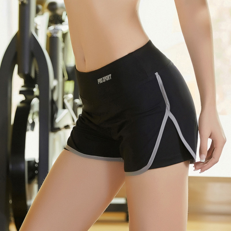 2 In 1 Yoga Shorts for Women In Sport Shorts Gym Was Let Go, Quick Drying Elastic Shorts Running Fitness Woman Clothes
