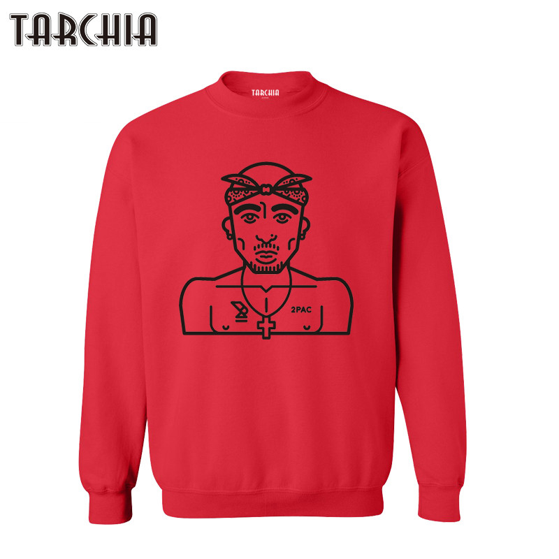 TARCHIA 2019 Casual Parental Survetement Homme Hip Hop Rap Music Boy Breaking Man Hoodies Sweatshirt Personalized Pirates 2Pac