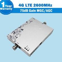 Lintratek MGC/AGC Funktion 4G LTE 2600 Mhz Handy Signalverstärker Verstärker 4G FDD 2600 75dB Gain Booster Verstärker S36